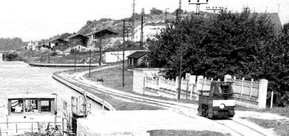 Une photo du pont détruit de Sapigneul Berry-au-bac
